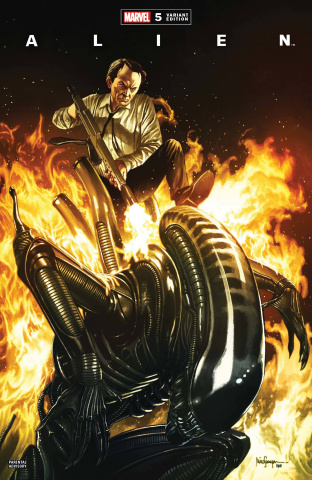 Alien #5 (Suayan Cover)