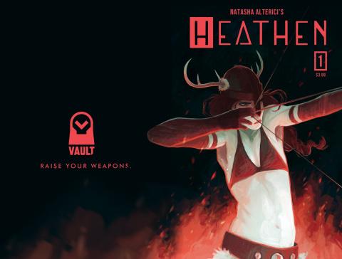Heathen #1 (5 Copy Alterici Cover)