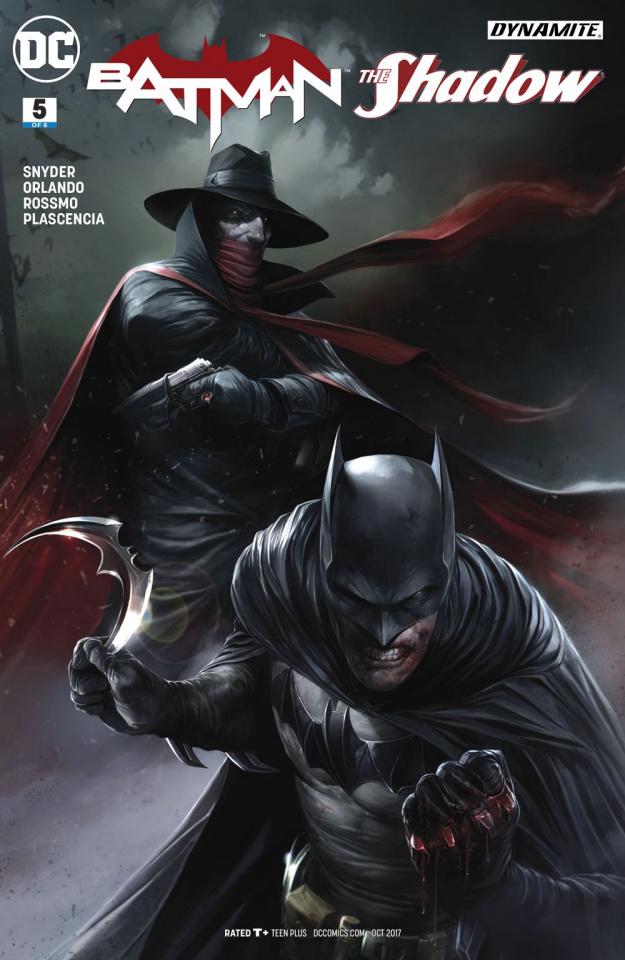 Batman / The Shadow #5 (Mattina Cover)