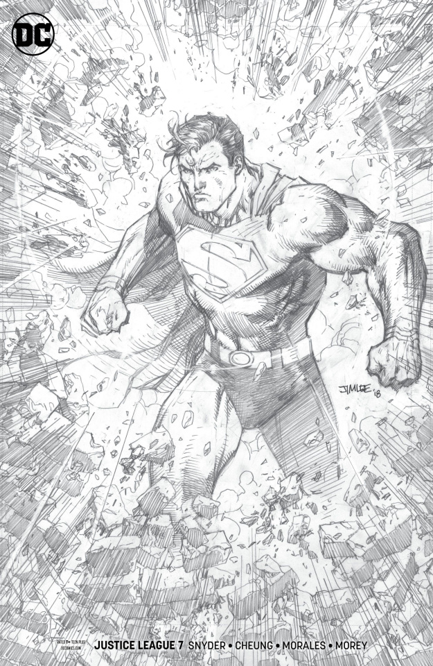 Justice League #7 (Jim Lee Pencil Cover)
