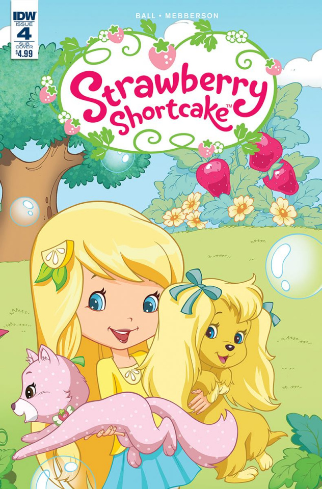 Strawberry Shortcake #4 (Subscription Cover)