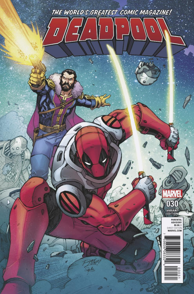 Deadpool #30 (Lim Cover)