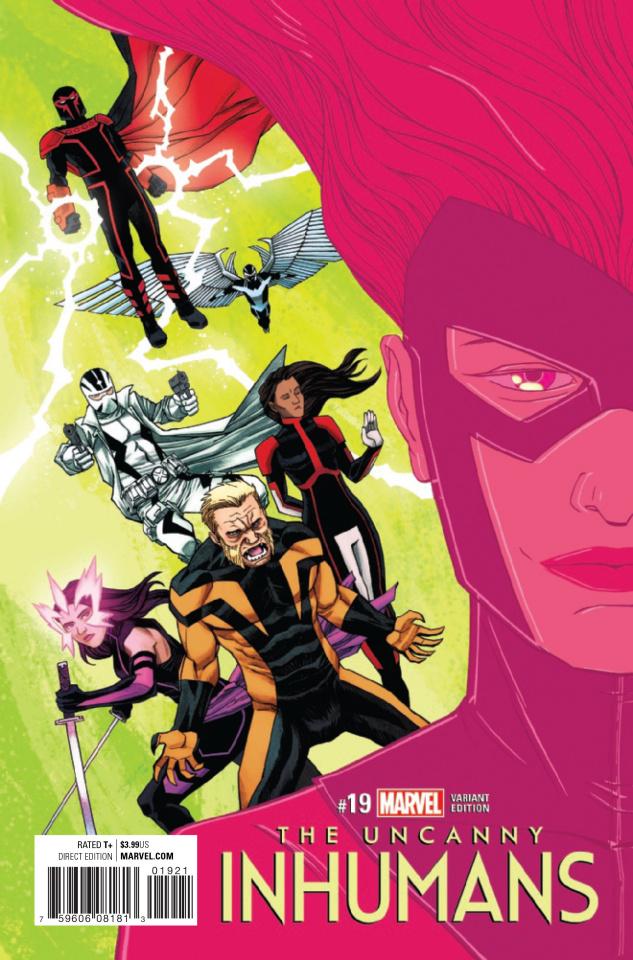 The Uncanny Inhumans #19 (Shalvey / Bellaire IvX Cover)