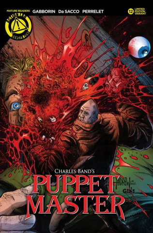 Puppet Master #12 (Color Kill Cover)