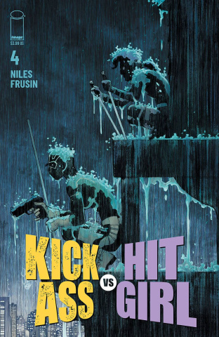 Kick-Ass vs. Hit-Girl #4 (Romita Jr Cover)