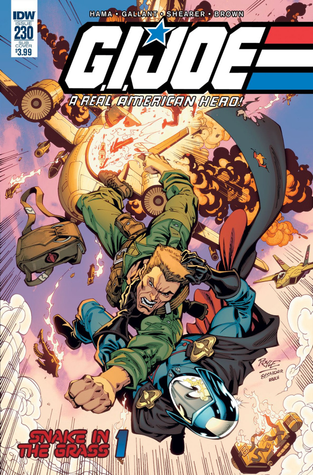 G.I. Joe: A Real American Hero #230 (Subscription Cover)