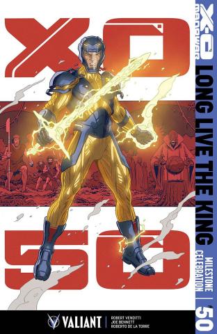 X-O Manowar #50 (Rivera Cover)