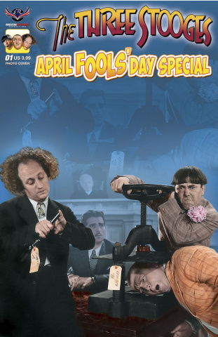 The Three Stooges: April Fools' Day (Photo Cover)