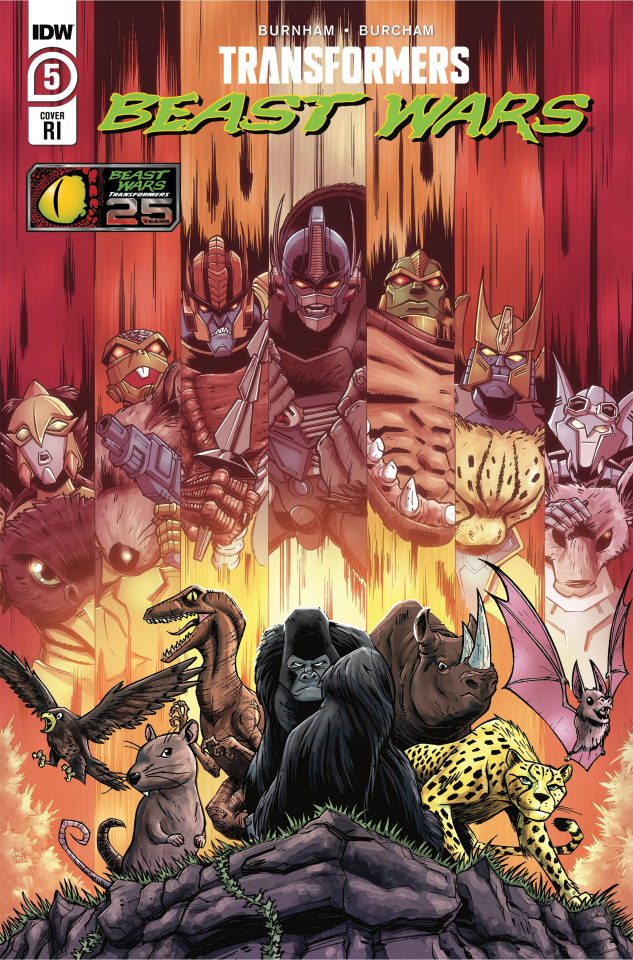 Transformers: Beast Wars #6 (10 Copy Nick Roche Cover)