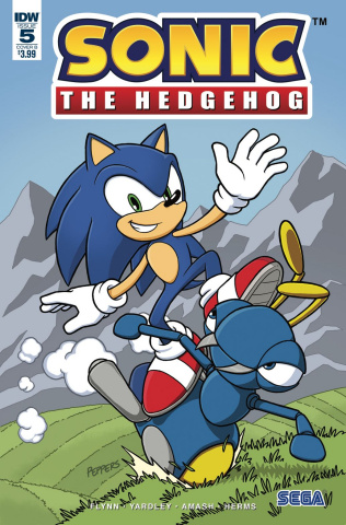 Sonic the Hedgehog #5 (Gates Cover)