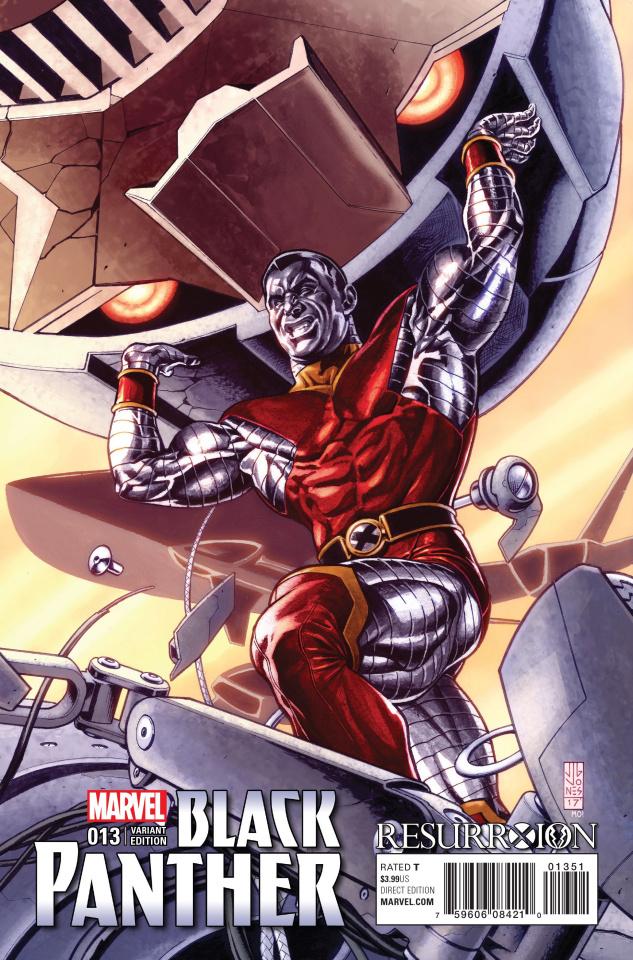 Black Panther #13 (J.G. Jones ResurrXion Cover)