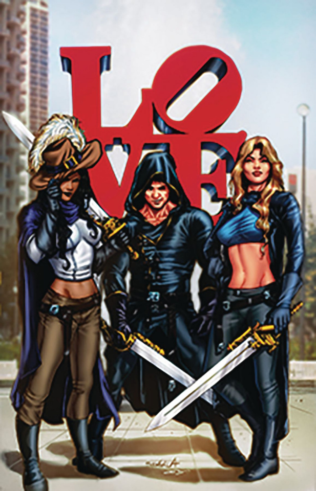 Musketeers #4 (Davila Cover)