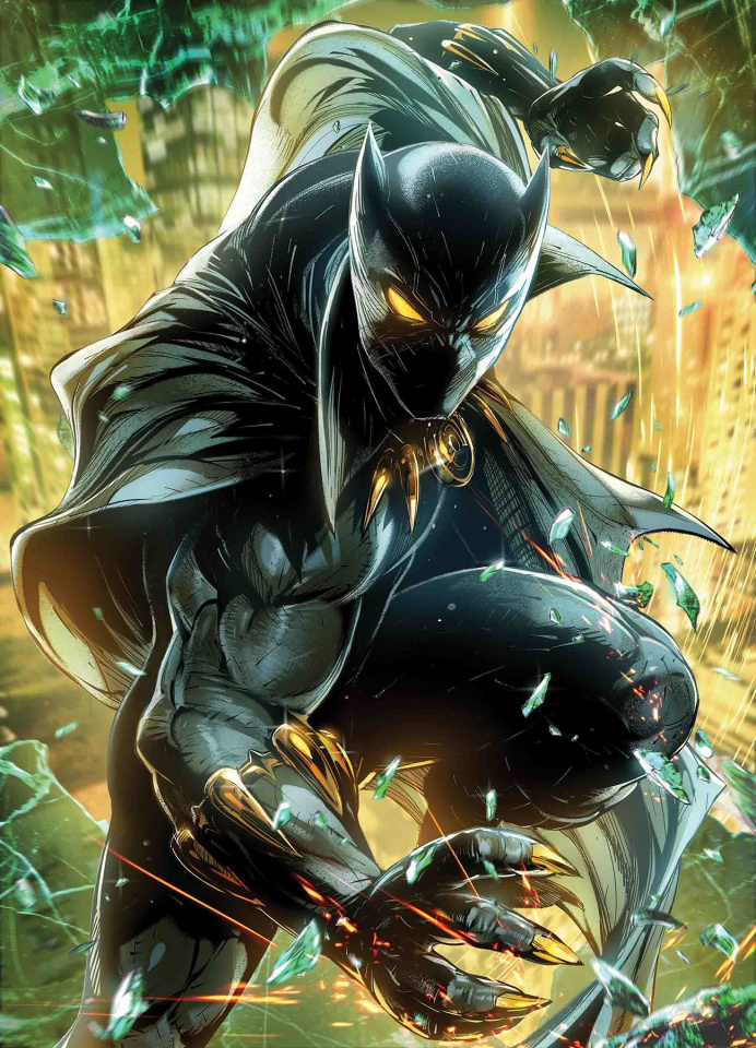 Black Panther #5 (Jong-Ju Kim Marvel Battle Lines Cover)