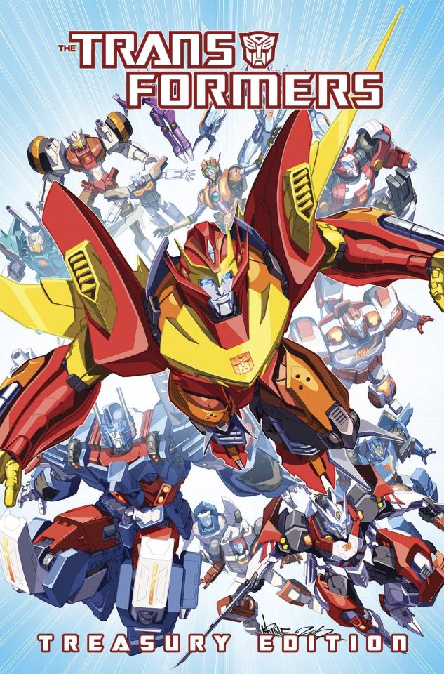 The Transformers Treasury Edition