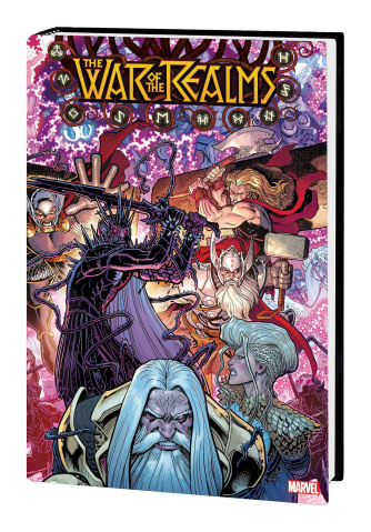 The War of the Realms (Omnibus Adams Cover)