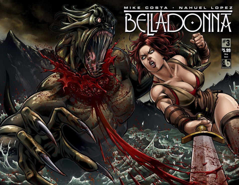 Belladonna #3 (Wrap Cover)