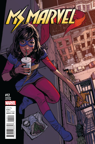 Ms. Marvel #12 (Jöelle Jones Cover)
