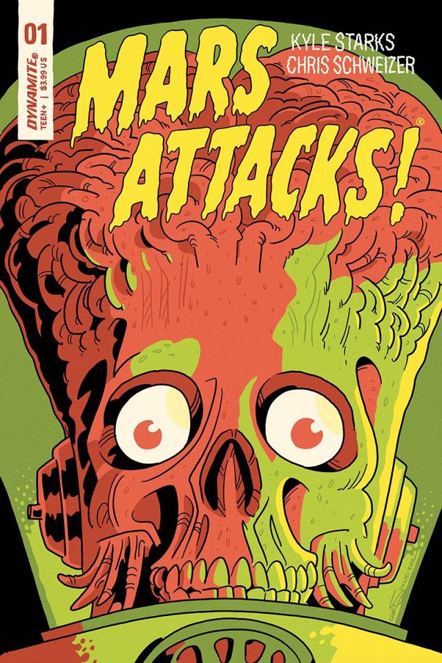 Mars Attacks #1 (Schweizer Cover)
