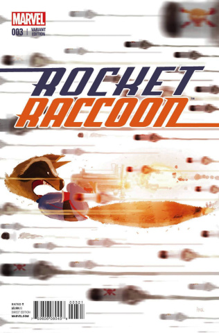 Rocket Raccoon #3 (Campion Cover)