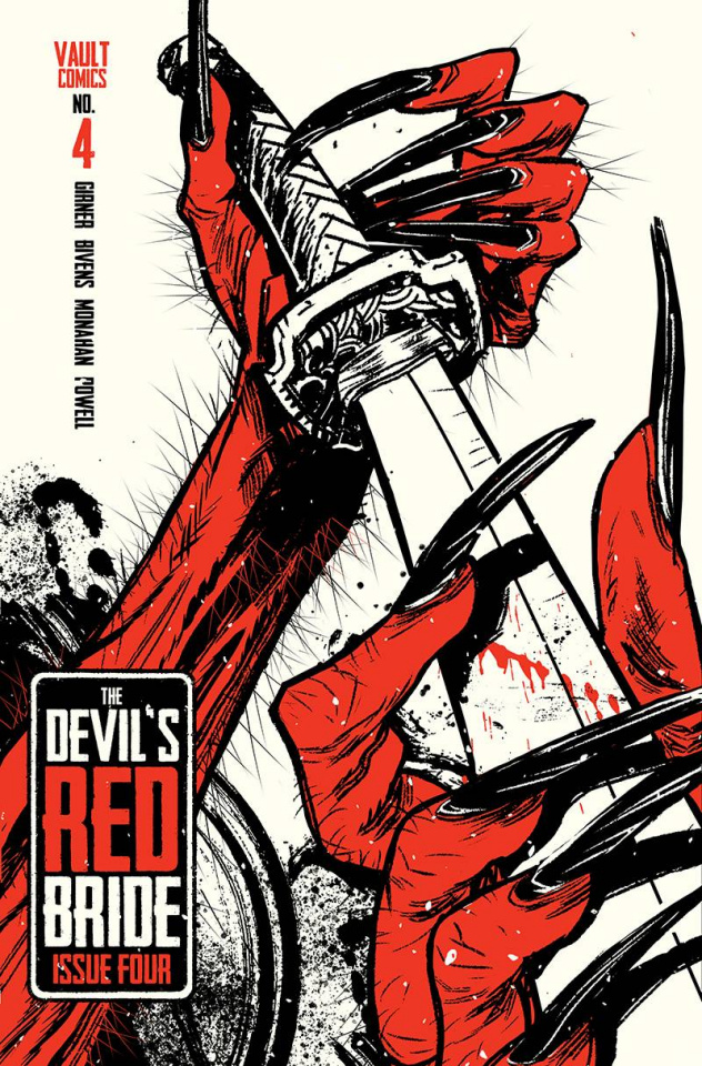The Devil's Red Bride #4 (Daniel Cover)