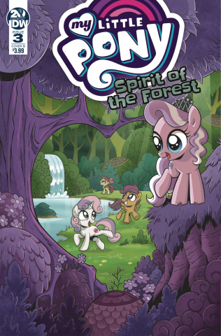 My Little Pony: Spirit of the Forest #3 (Hickey Cover)