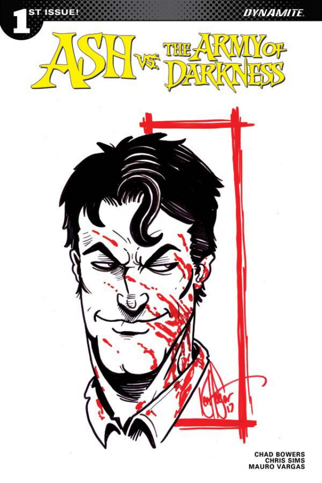 Ash vs. The Army of Darkness #1 (Haeser Remark Cover)