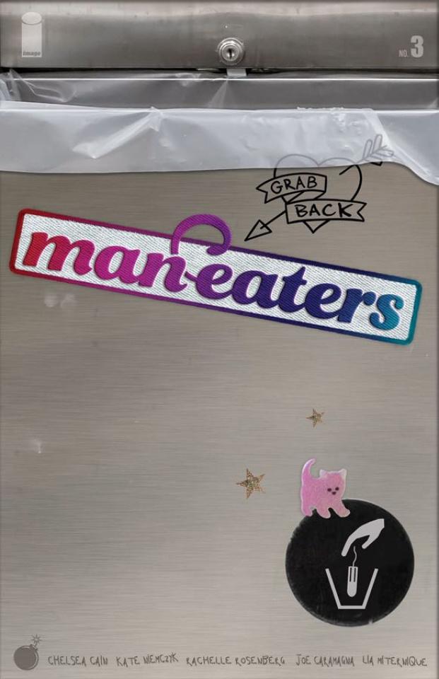 Man-Eaters #3 (Miternique Cover)
