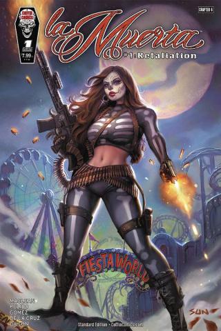 La Muerta: Retailiation (Khamunaki Standard Cover)