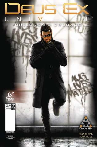 Deus Ex #5 (Chanthara Cover)