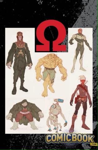 The Omega Men #1