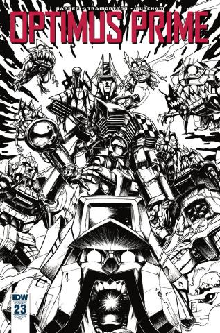 Optimus Prime #23 (10 Copy Zama Cover)