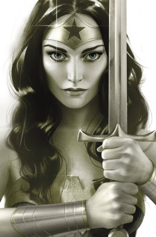 Wonder Woman #761 (Middleton Card Stock Cover)