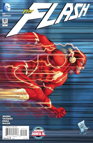 The Flash #51 (Romita Cover)