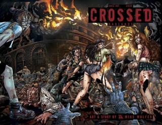 Crossed: Badlands #86 (Wrap Cover)