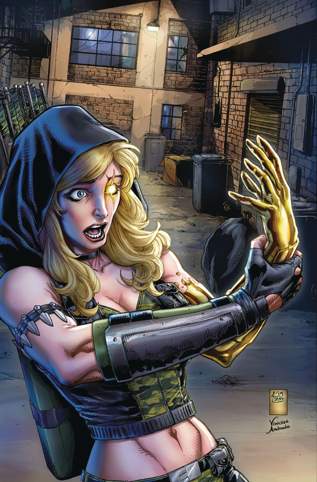 Robyn Hood: Outlaw #4 (Spay Cover)