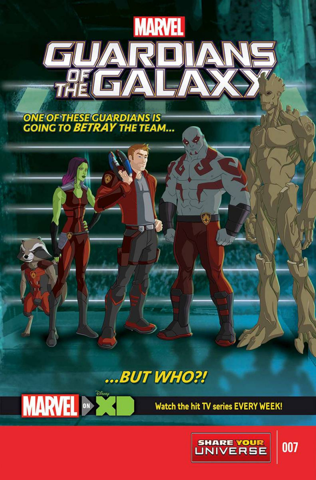 Marvel Universe: Guardians of the Galaxy #7