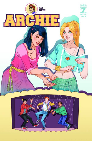 Archie #7 (Marguerite Sauvage Cover)