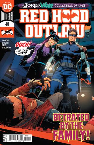 Red Hood: Outlaw #48 (Dan Mora Cover)