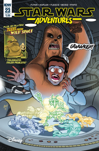 Star Wars Adventures #23 (Fleecs Cover)