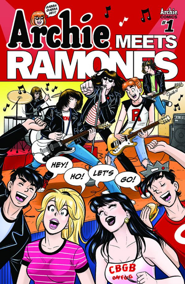 Archie Meets the Ramones (Gisele Lagase Cover)