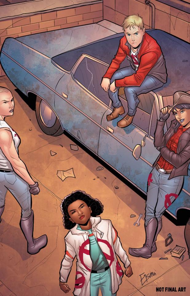Generation Zero #6 (Eisma Cover)