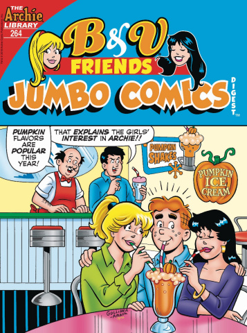 B & V Friends Jumbo Comics Digest #264