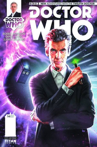 Doctor Who: New Adventures with the Twelfth Doctor #14 (Ronald Cover)
