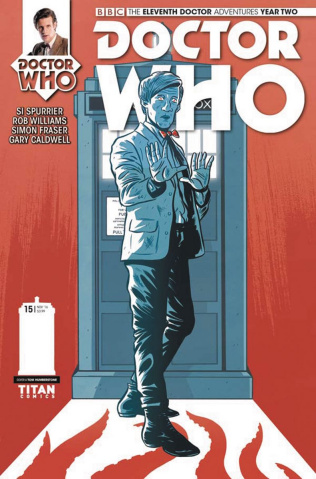 Doctor Who: New Adventures with the Eleventh Doctor, Year Two #15 (Humberstone Cover)