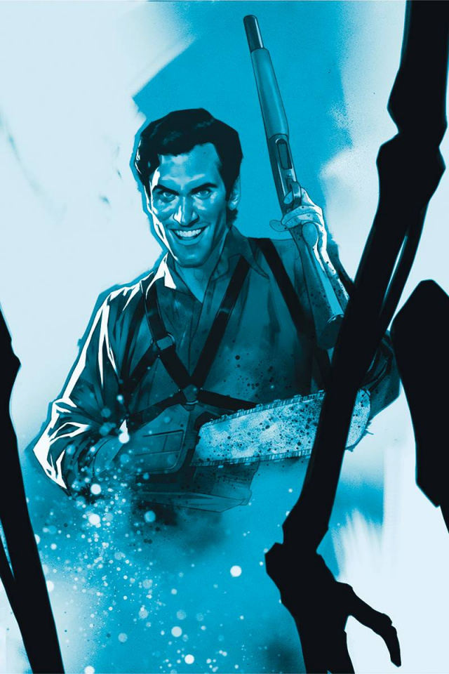 Death to the Army of Darkness #5 (25 Copy Oliver Tint Virgin Cover)