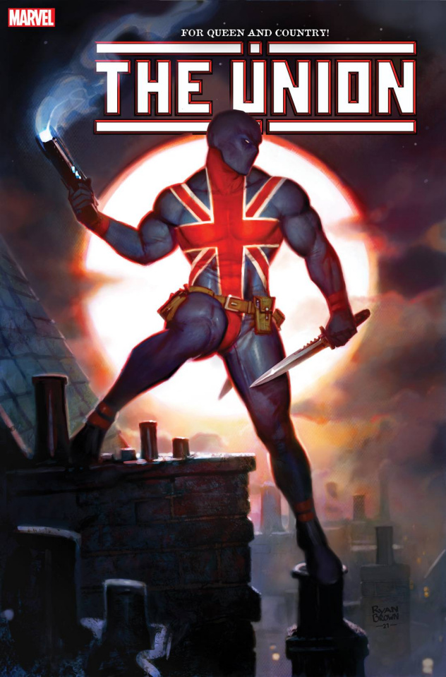 The Union #4 (Brown Cover)