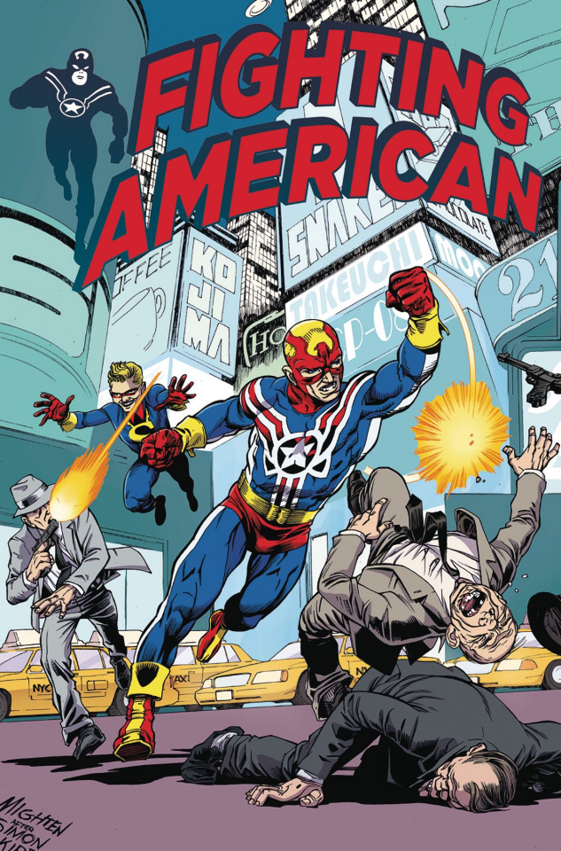 Fighting American #2 (Mighten Cover)