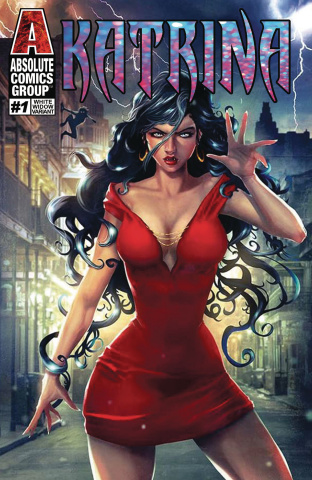 Katrina #1 (White Widow Cover)