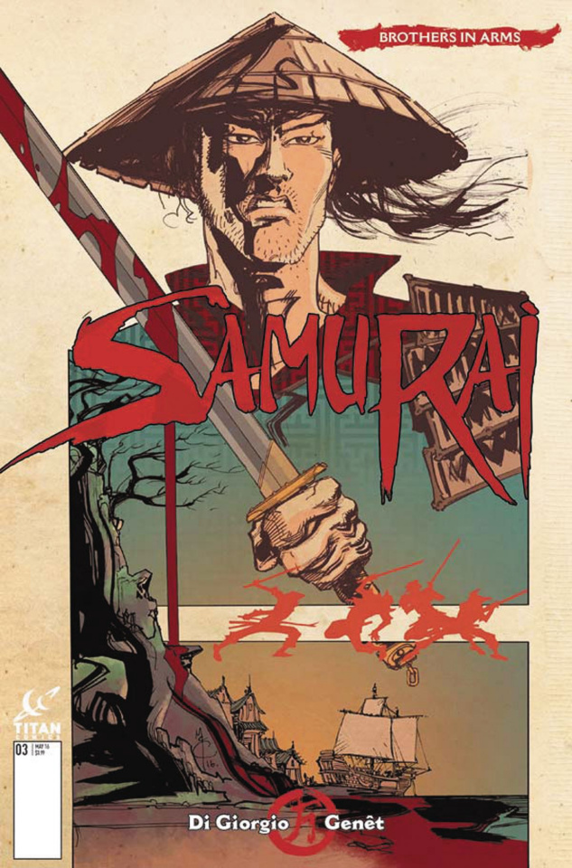 Samurai: Brothers in Arms #1 (McCrea Cover)