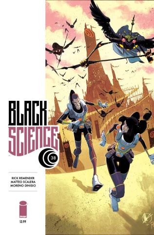Black Science #38 (Scalera & Dinisio Cover)